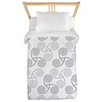 Celtic Triple Spiral Twin Duvet