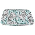 Celtic Puzzle Square Bathmat