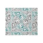 Celtic Puzzle Square Throw Blanket