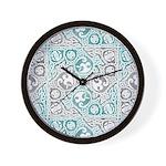 Celtic Puzzle Square Wall Clock
