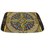Celtic Compass Bathmat