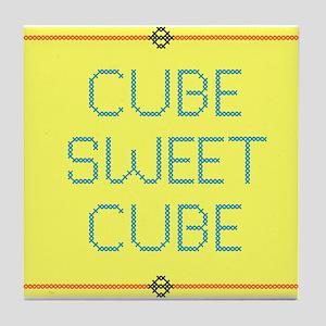 CubeSweetCube Tile Coaster