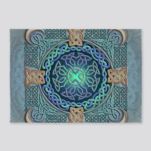 Celtic Eye of the World 5'x7'Area Rug