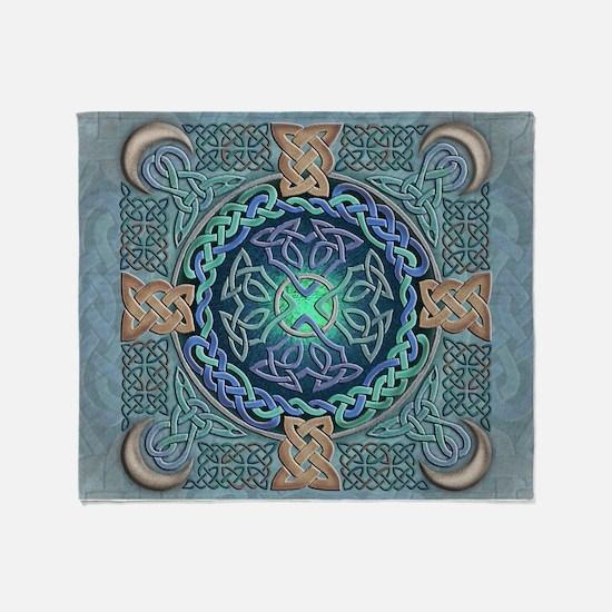 Celtic Eye of the World Throw Blanket