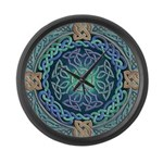 Celtic Eye of the World Large Wall Clock