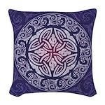 Celtic Shield Woven Throw Pillow