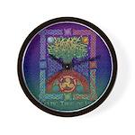 Celtic Tree of Life Wall Clock
