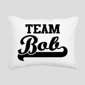 Team Bob Rectangular Canvas Pillow
