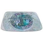 Cool Celtic Dragonfly Bathmat