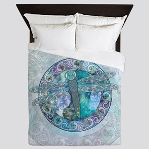 Cool Celtic Dragonfly Queen Duvet