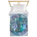 Cool Celtic Dragonfly Twin Duvet