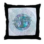 Cool Celtic Dragonfly Throw Pillow