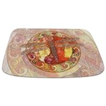 Warm Celtic Dragonfly Bathmat