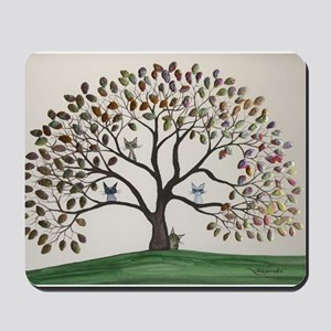 Culpeper Tree Cats Mousepad