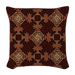 Celtic Knotwork Enamel Woven Throw Pillow