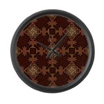 Celtic Knotwork Enamel Large Wall Clock