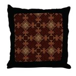 Celtic Knotwork Enamel Throw Pillow