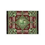 Celtic Dragon Labyrinth 5'x7'Area Rug