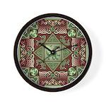 Celtic Dragon Labyrinth Wall Clock