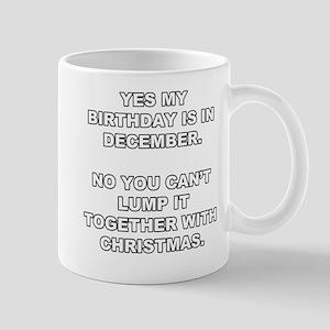 Christmas Birthday Mug