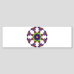Star Burst Sticker (Bumper)