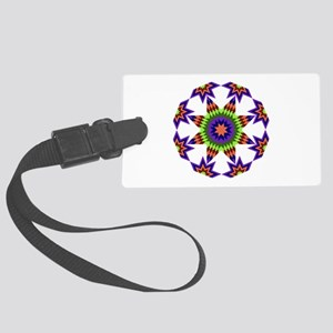 Star Burst Large Luggage Tag