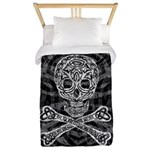 Celtic Skull and Crossbones Twin Duvet