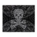 Celtic Skull and Crossbones Throw Blanket