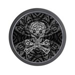 Celtic Skull and Crossbones Wall Clock