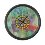 Celtic Stargate Large Wall Clock
