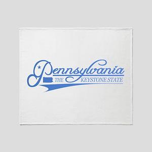 Pennsylvania State of Mine Throw Blanket