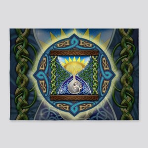Celtic Hourglass 5'x7'Area Rug