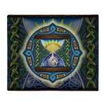 Celtic Hourglass Throw Blanket