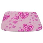 Celtic Pink Hearts Bathmat