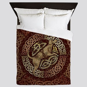 Celtic Dog Queen Duvet
