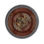 Celtic Dog Wall Clock