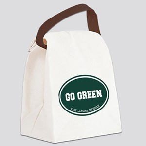 Go GREEN Canvas Lunch Bag