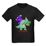 Dinosaur birthday Kids T-shirts (Dark)