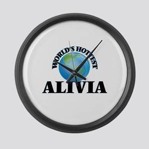 World's Hottest Alivia Large Wall Clock