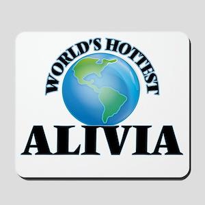 World's Hottest Alivia Mousepad