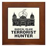 Radical Islam Framed Tile