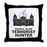 Radical Islam Throw Pillow