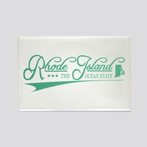 Rhode Island State of Mine Magnets