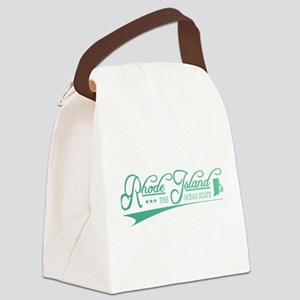 Rhode Island State of Mine Canvas Lunch Bag