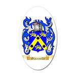 Giacomello 35x21 Oval Wall Decal