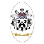 Giacconi Sticker (Oval 50 pk)