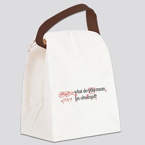 Obsessed Canvas Lunch Bag