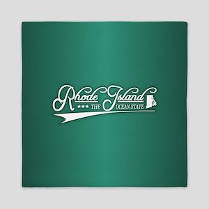 Rhode Island State of Mine Queen Duvet