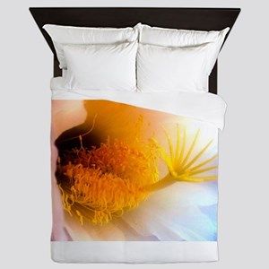 Cactus Flower Queen Duvet