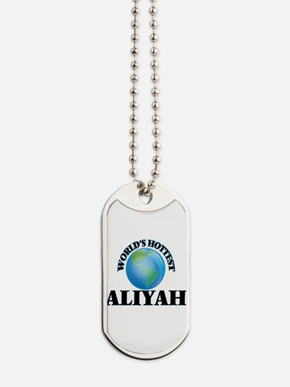 World's Hottest Aliyah Dog Tags
